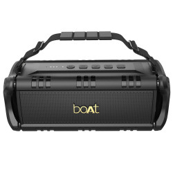 boAt Stone 1401 Bluetooth Speaker with 30W HD Audio(Active Black)