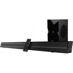 boAt Aavante Bar 2000 120 W Bluetooth Soundbar  (Premium Black, 2.1 Channel)