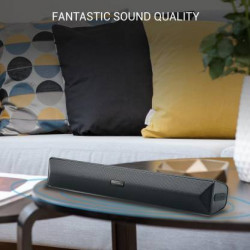 Portronics POR-891_Pure Sound PRO-3 Speaker 10 W Bluetooth Soundbar  (Black, Stereo Channel)