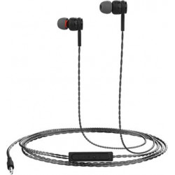 Portronics POR-1025 Conch Gama Wired Headset  (Black, Wired in the ear)