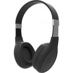 Portronics POR-762 Muffs Plus Wireless Bluetooth Headphone with AUX Port (Black)