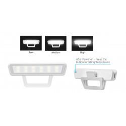 Portronics POR 810 Cliky,Selfie LED Light (White)