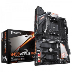 AMD B450 AORUS PRO Motherboard with Hybrid Digital PWM, Dual M.2 with Dual Thermal Guards, Audio ALC1220-VB with cFosSpeed