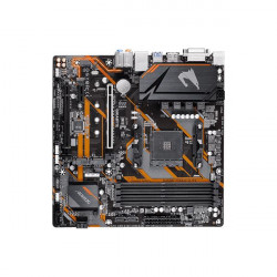 GIGABYTE B450M AORUS ELITE MOTHERBOARD (AMD SOCKET AM4RYZEN SERIES CPUMAX 128GB DDR4 3600MHZ MEMORY)