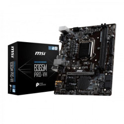 MSI B365M PRO-VH Motherboard (Intel Socket 1151/9th and 8th generation core series cpu/max 32GB DDR4 2666Mhz memory)