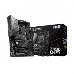 MSI MEG Z490 UNIFY (WI-FI) MOTHERBOARD (INTEL SOCKET 1200/10TH GENERATION CORE SERIES CPU/MAX 128GB DDR4 4800MHZ MEMORY)