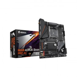 GIGABYTE B550 AORUS PRO AC (WI-FI) MOTHERBOARD (AMD SOCKET AM4/RYZEN 3RD GEN SERIES CPU/MAX 128GB DDR4 5200MHZ MEMORY)