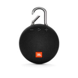 JBL Clip 3 Ultra-Portable Wireless Bluetooth Speaker with Mic (Black)