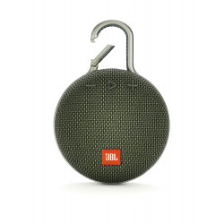JBL Clip 3 Ultra-Portable Wireless Bluetooth Speaker with Mic (Green)