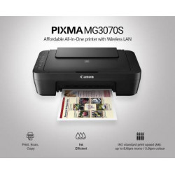 Canon PIXMA MG3070S Multi-function(SCAN AND COPY) WiFi Color Printer  (Black)