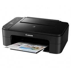 Canon PIXMA TS3370 Multi-function WiFi Color Printer  (Black)