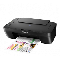 Canon PIXMA E410 Multi-function(PRINT, SCAN AND COPY) Color Printer  (Black)