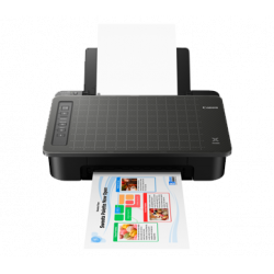 Canon PIXMA TS307 Single Function  Inkjet WiFi Color Printer  (Black)