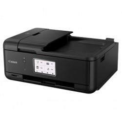 Canon PIXMA TR8570 All-in-One Wireless Inkjet Color Printer with FAX, ADF and Auto Dupex Printing (Black)
