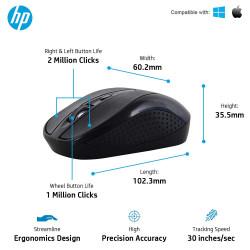 HP Multimedia Slim Wireless Keyboard & Mouse Combo