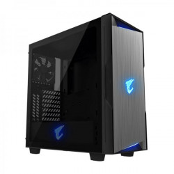 Gigabyte Aorus C300 Glass (ATX) MID Tower Cabinet With Tempered Glass Side Panel (Black)