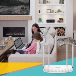 TP-Link Archer C50 AC1200 Wireless Dual Band 1200 Mbps Router  (White, Dual Band)
