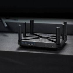 TP-Link Archer C4000 4000 Mbps Router  (Black, Tri Band)