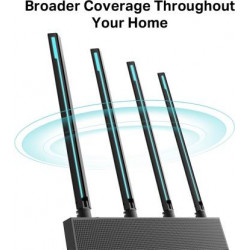 TP-Link Archer C80 1900 Mbps Router  (Black, Dual Band)