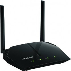 Netgear R6120-100INS AC1200 Dual-Band Wi-Fi Router (Black, Not a Modem)