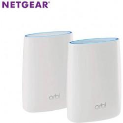 Netgear Orbi RBK50 Tri Band 3000 Mbps Mesh Router  (White, Tri Band)