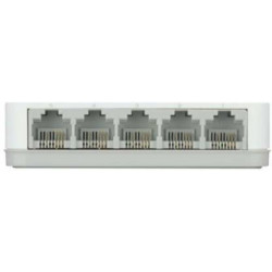 D-Link DES 1005C Network Switch  (White)