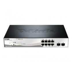 D-Link Business DGS 1210 10P Web Smart 8 Port Gigabit Switch