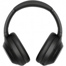 Sony WH-1000XM4 Wireless Noise Canceling Overhead Headphones with Mic for phone-call and Alexa voice control, Black