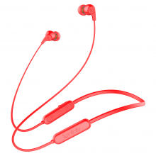 Infinity TRANZ N300 Bluetooth Headset (Red, In the Ear)