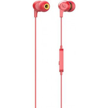 Infinity WYND 300 Wired Headset  (Red, In the Ear)