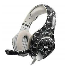Cosmic Byte GS410 Headphones with Mic and for PS4, Xbox One, Laptop, PC, iPhone and Android Phones (Camo Black )