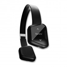 Toreto  Wireless Bluetooth Headphone with 10 Hours Playtime (Black, TOR-210)