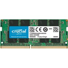 Crucial CT8G4SFS8266 8GB DDR4 PC4-21300 CL-19 2666 MT/s SODIMM RAM