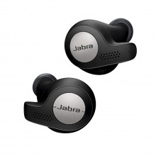 Jabra Elite Active 65t True Wireless Earbuds and Charging Case (Titanium Black)