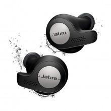 Jabra Elite Active 65t True Wireless Earbuds and Charging Case (Titanium Black)