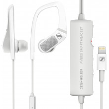 Sennheiser AMBEO Smart Headset (iOS)  Active Noise Cancellation and 3D Sound Recording