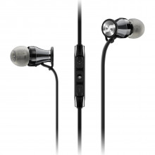 Sennheiser M2 IEI Momentum In-Ear Headphones (Black/Chrome)