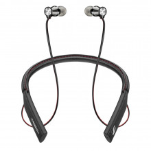 Sennheiser Momentum in-Ear Wireless Black Headphones, Bluetooth 4.1 with Qualcomm Apt-X and AAC, NFC one Touch Pairing