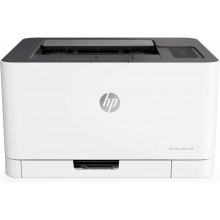 HP Color Laser 150a Home & Office Printer- White