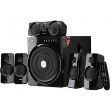 F&D F6000X Powerful 135W Bluetooth Home Audio Speaker & Home Theater System (5.1, Black)