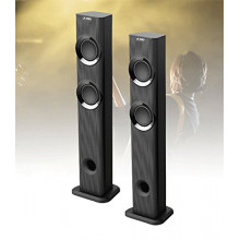 F&D T-300X 70 W Bluetooth Home Theatre  (Black, 2.1 Channel)