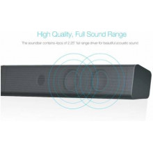 F&D T-160X 40 W Bluetooth Soundbar  (Black, 2.0 Channel)