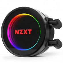 NZXT Kraken M22 CAM Powered 120 mm RGB AIO Liquid Cooler with AER P Radiator-Optimized Fan
