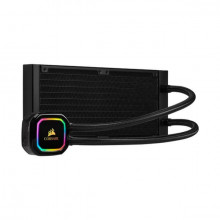 Corsair ICUE H100i Pro XT RGB,40MM RADIATOR, DUAL 120MM ML SERIES PWM FANS, ADVANCED RGB LIGHTING AND FAN CONTROL WITH SOFTWARE