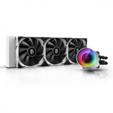 Deepcool GamerStorm Castle 360EX White RGB,ALL IN ONE 360MM CPU LIQUID COOLER (DP-GS-H12W-CSL360EXWH)