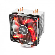 Deepcool Gammaxx 400 Red LED,120MM CPU AIR COOLER WITH RED LED (DP-MCH4-GMX400RD)