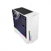 Antec Dark Phantom DP501 (White) Minimal Mid-Tower Gaming Cabinet