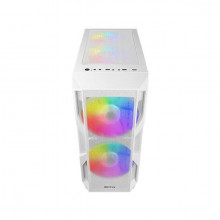 Antec NX Series NX800 White I Mid Tower Gaming Case With Tempered Glass Side Panel