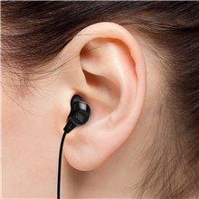 JBL T50HI by Harman in-Ear Headphones with Mic (Black)