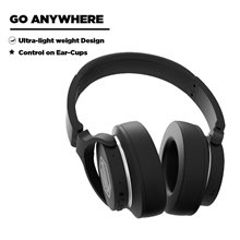 Nu Republic Starboy 3 Wireless Headphones with Extra bass Mode, Extra Memory Foam in Ear-Cups and Headband, 25 Hours Battery Lif